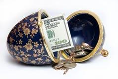 Ei und Reiche Stockfoto