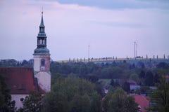 Eibau, ανώτερο lusatia Στοκ φωτογραφία με δικαίωμα ελεύθερης χρήσης