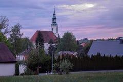 Eibau, ανώτερο lusatia Στοκ εικόνα με δικαίωμα ελεύθερης χρήσης