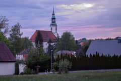 Eibau, górny lusatia Obraz Royalty Free