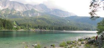 Eibensee Lake. Beautiful Eibensee Lake in Bavaria Germany royalty free stock images