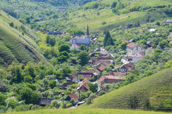 Eibenthal-Dorf Stockbild