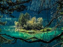 Eibsee Bavaria Germany Europe beautiful landscape. Germany beautiful landscape is always worth a visit Stock Images