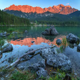 Eibsee Royalty Free Stock Photography