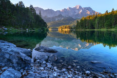 Eibsee Royalty Free Stock Photos