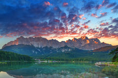 Eibsee Royalty Free Stock Images