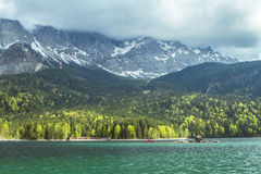 Eibsee, Germany Royalty Free Stock Image