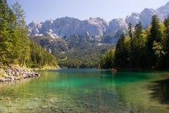 Eibsee im Bayern Stockbilder