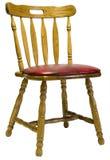 Eiche Dinette seitlicher Stuhl Stockbild