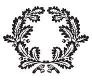 Eiche Wreath lizenzfreie abbildung