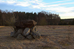 Eichelburger Ding, an ancient Germanic cult and gathering site Royalty Free Stock Images