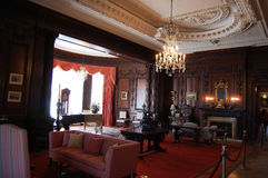 Eichen-Raum dem Schloss in der Casa-LOMA, Toronto Lizenzfreie Stockfotografie
