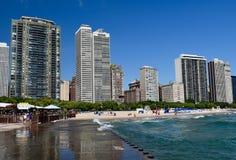 Eichen-Straßen-Strand Stockfoto