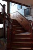 Eichen-Treppenhaus im Hinterland Virginia Lizenzfreie Stockfotografie