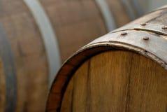 Eichen-Wein-Faß Stockfoto