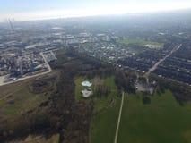 Eichenstraßenspielfelder, Kingston nach Rumpf stockfotos