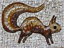 Eichhörnchen-Mosaik Lizenzfreies Stockfoto