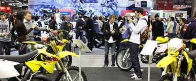 Eicma 2009 Stock Photo