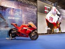 EICMA 2010 - Ducati Desmosedici royalty free stock images