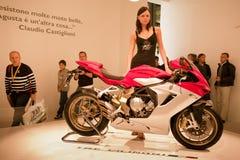 EICMA 2010 - F3 di Agusta Fotografia Stock