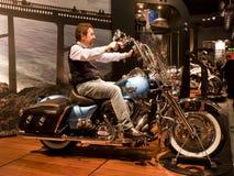 EICMA 2010 - Harley Davidson Stock Image