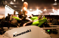 EICMA 2010 - Kawasaki stand Stock Images