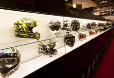 EICMA 2010 - Scorpion Helmets Stock Photos