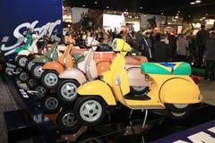 Eicma 2011, exposición internacional de la motocicleta Imagen de archivo