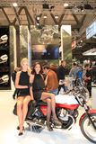 Eicma 2011, international motorcycle exhibition Royalty Free Stock Images