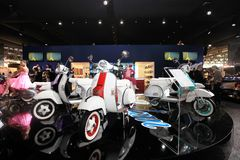 Eicma 2011, international motorcycle exhibition royalty free stock photography