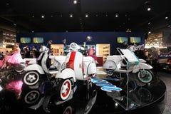 Eicma 2011, internationale Motorradausstellung lizenzfreie stockfotografie