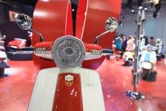 Eicma 2011, mostra internazionale del motociclo Fotografia Stock