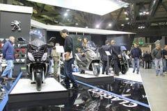 EICMA 2012 70. Motorrad Mailand Lizenzfreie Stockfotos