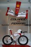 EICMA Colnago 2012 för Ferrari Royaltyfria Bilder