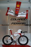 EICMA Colnago 2012 für Ferrari Lizenzfreie Stockbilder