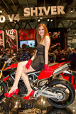 EICMA International Motorcycle Exhibition Royalty Free Stock Photography