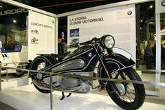 EICMA 2014. EICMA - 72 ° Motorcycling Worlds Fair - Milan 6-9 November 2014. BMW history on display Stock Image