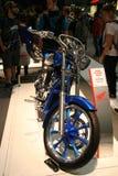 EICMA 2014. EICMA - 72 ° Motorcycling Worlds Fair - Milan 6-9 November 2014. Honda VT1300CX motorcycle custom Special on display Royalty Free Stock Photo