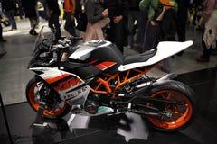EICMA 2014. EICMA - 72 ° Motorcycling Worlds Fair - Milan 6-9 November 2014. KTM Racing Royalty Free Stock Photography