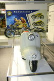 EICMA 2014. EICMA - 72 ° Motorcycling Worlds Fair - Milan 6-9 November 2014. old BMW on display Stock Photography
