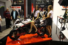 EICMA 2014 Royalty Free Stock Photo