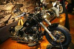 EICMA 2014. EICMA - 72 ° Motorcycling Worlds Fair - Milan 6-9 November 2014. Stand harley-davidson Royalty Free Stock Photo