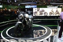 EICMA 2014. EICMA - 72 ° Motorcycling Worlds Fair - Milan 6-9 November 2014. Stand Kawasaki Royalty Free Stock Images