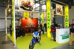 EICMA 2014. EICMA - 72 ° Motorcycling Worlds Fair - Milan 6-9 November 2014. stand on Senke Stock Images