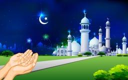 Eid祷告 库存图片