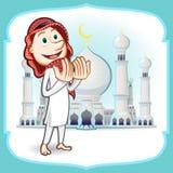 Eid穆巴拉克贺卡 库存照片