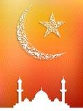 Eid背景 免版税库存照片
