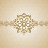 Eid阿拉伯伊斯兰教的艺术设计 库存图片
