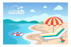 Summer background vector illustration vector illustration