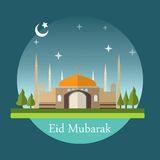 Eid夜 库存图片